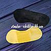Наклейки на заднюю часть обуви черные (Кожаные)