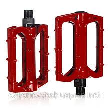 Алюминиевые педали CityRyde AL-01, красные