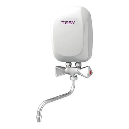Водонагреватель Tesy проточный 5,0 кВт со смесителем IWH 50 X02 KI, фото 2