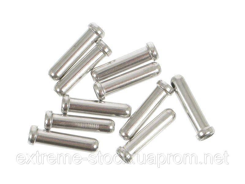 Наконечники для тросиков Shimano, 1.2 mm, алюминий