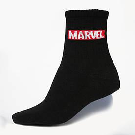 """Носки черные с принтом """"Marvel"""""""
