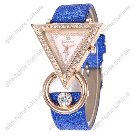 """Жіночі наручні годинники """"Romand"""" (синій), фото 2"""