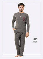 Пижама мужская зимняя интерлок Falkom 2821