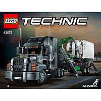 Конструктор ЛЕГО Техник LEGO Technic Грузовик 42078 Mack Anthem