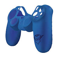 Силіконовий чохол Trust GXT 744B Rubber Skin для геймаду PlayStation BLUE