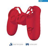 Силіконовий чохол Trust GXT 744B Rubber Skin для геймаду PlayStation RED