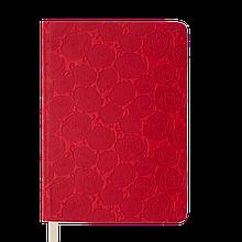 Ежедневник датированный 2020 FLEUR, A5, 336 стр., красный