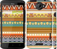 "Чехол на HTC One X+ Узор v15 ""2819c-69"""