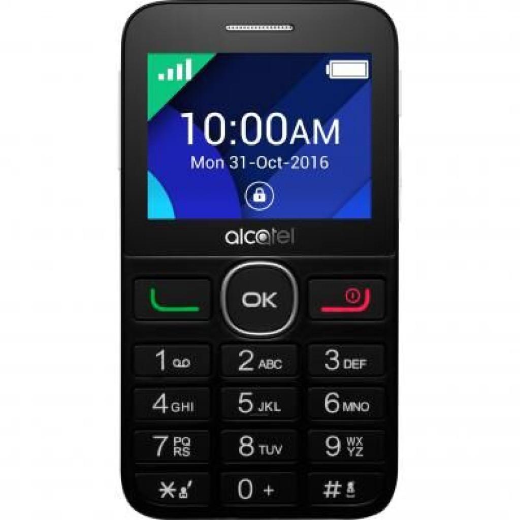 Мобильный телефон ALCATEL ONETOUCH 2008G Black White (4894461419060)