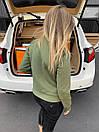 Жіноча куртка замшева Philipp Plein Green, фото 2