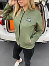 Жіноча куртка замшева Philipp Plein Green, фото 3