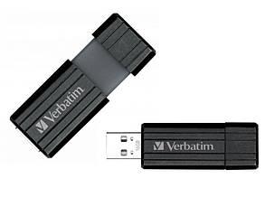 Флеш-память VERBATIM PINSTRIPE 16GB black USB 3.0 (49316)