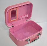 """Набор бьюти-кейсов для косметики """"Lever cat""""  2 шт. (25.5*19*11.5 см, 22*15.5*8,5 см), фото 2"""