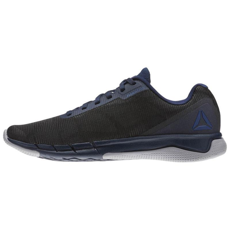 Кроссовки мужские Reebok Fast Flexweave (Navy blue/gray) 43р.