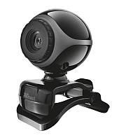 Веб-камера Trust EXIS 480p BLACK