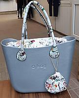 Женская сумка O bag classic в светло-голубом корпусе