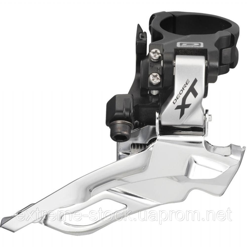 Передний переключатель Shimano Deore XT FD-M786 Down Swing, 2x10, серебро