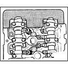Набор фиксаторов VW, AUDI 4 клапан., W8, W12, фото 2