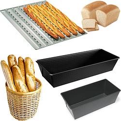 Формы для выпечки хлеба, багета и кексов