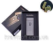 Электроимпульсная зажигалка в подарочной упаковке Nobilis (USB) №XT-4775 Black