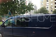 Рейлинги на крышу Хром Peugeot Expert с 2007 г.в. (Длинная база)