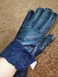 Теплые меха женские перчатки Angel  только оптом, фото 5
