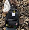 Рюкзак молодежный Girl Cats Черный