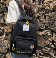 Рюкзак молодежный Girl Cats Черный, фото 1
