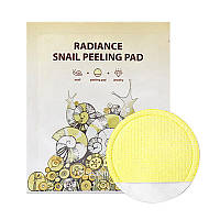 Двухсторонняя пилинг-салфетка SeaNTree Radiance Snail Peeling Pad