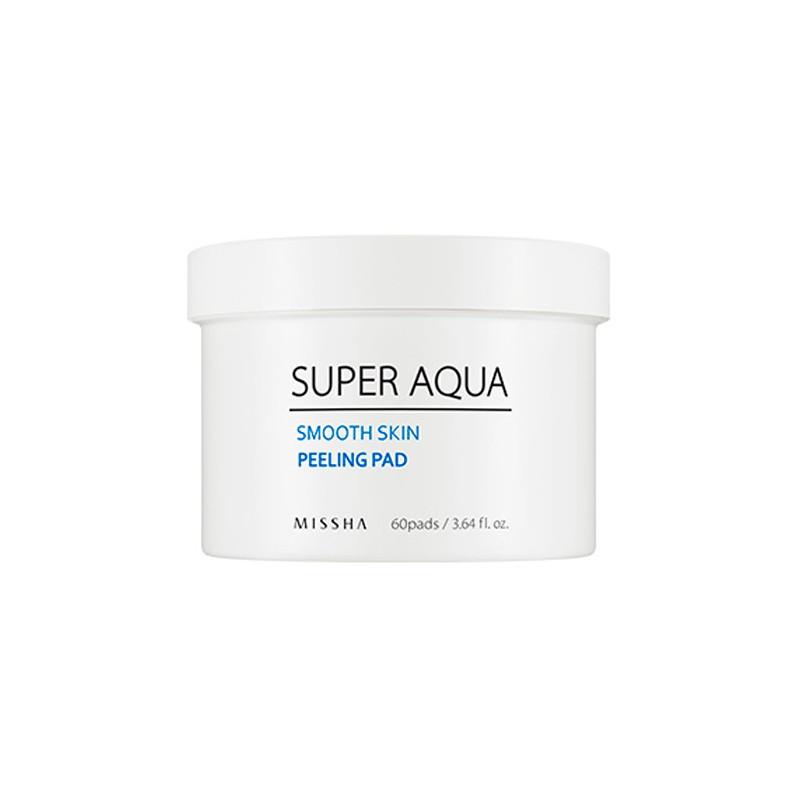 Пилинг-диски (пады) Missha Super Aqua Smooth Skin Peeling Pad
