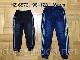 Штани під джинс з хутряним начосом для хлопчика Sports Active 98-128 р. р.