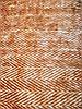 Коричневый хлопковый плед на диван с бахромой 150*190 см., Турция, фото 4