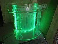 Стол стеклянный с подсветкой