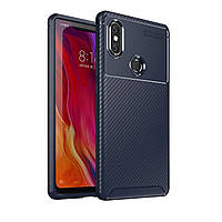 Чехол Carbon Case Xiaomi Mi 8 Se Синий