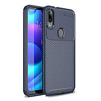 Чехол Carbon Case Xiaomi Mi Play Синий