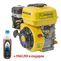 Двигатель бензиновый Sadko GE-200 PRO(фильтр в масл.)