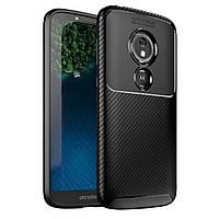 Чехол Carbon Case Motorola E5 Play Черный