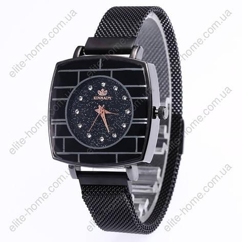 """Женские наручные часы на магнитной застежке """"Rinnady"""" (черный), фото 2"""