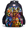 Школьный городской рюкзак Пять ночей с Фредди / Five Nights At Freddy's Purple Freddy Plush Toys