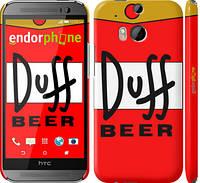"""Чехол на HTC One M8 Duff """"2814c-30"""""""