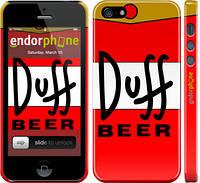 """Чехол на iPhone 5s Duff """"2814c-21"""""""