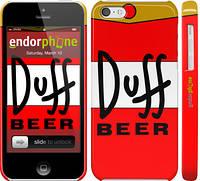 "Чехол на iPhone 5c Duff ""2814c-23"""