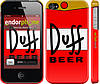 "Чехол на iPhone 4s Duff ""2814c-12"""