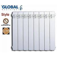 Биметаллические радиаторы GLOBAL STYLE PLUS 350/95, 35 Атм, 140 Вт (Италия). Киев