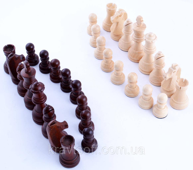 Шахматные фигуры (Дерево) W-040