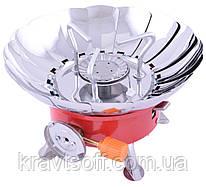 Портативная газовая плита с пьезоподжигом Подсолнух №k-203