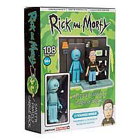 Конструктор Рик и Морти McFarlane - Rick & Morty Smith Garage Family Rack