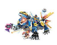 Конструктор JVToy 11007 Земляний дракон, фото 1