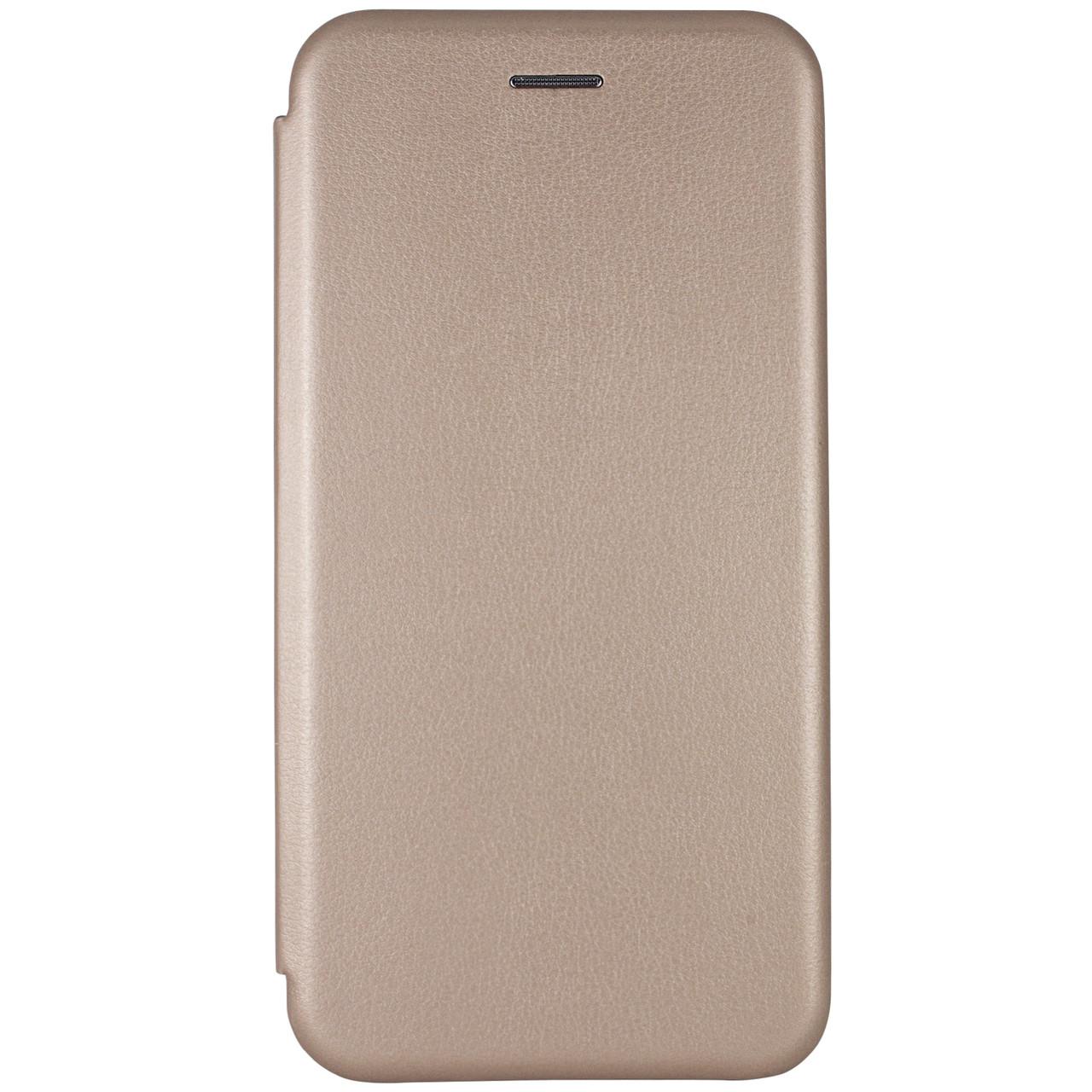 Кожаный чехол (книжка) Classy для Xiaomi Redmi Note 5 Pro / Note 5 (DC) Золотой
