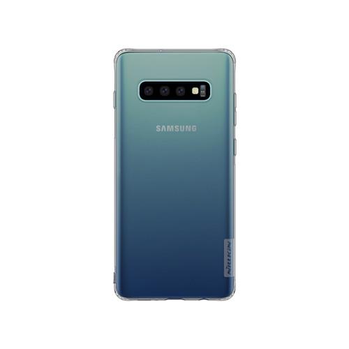 Чехол-накладка Nillkin Nature Series для Samsung Galaxy S10+ Серый (прозрачный)